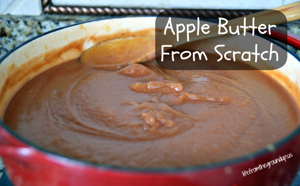 Easy Homemade Apple Butter