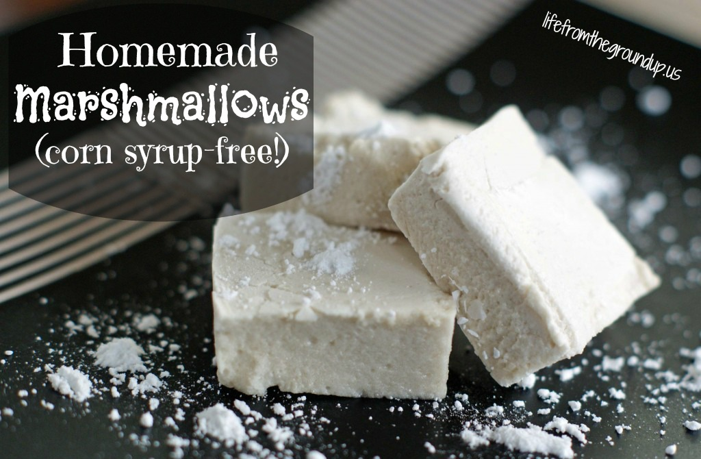 Homemade marshmallows no corn syrup - lifefromthegroundup.us