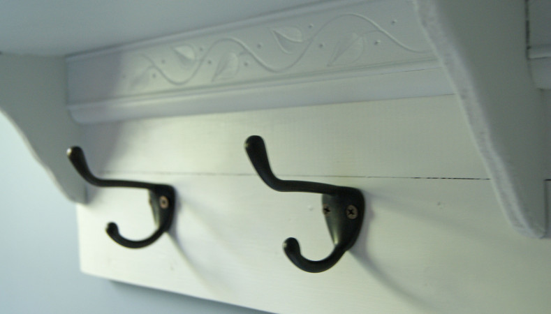 Mudroom shelves 8