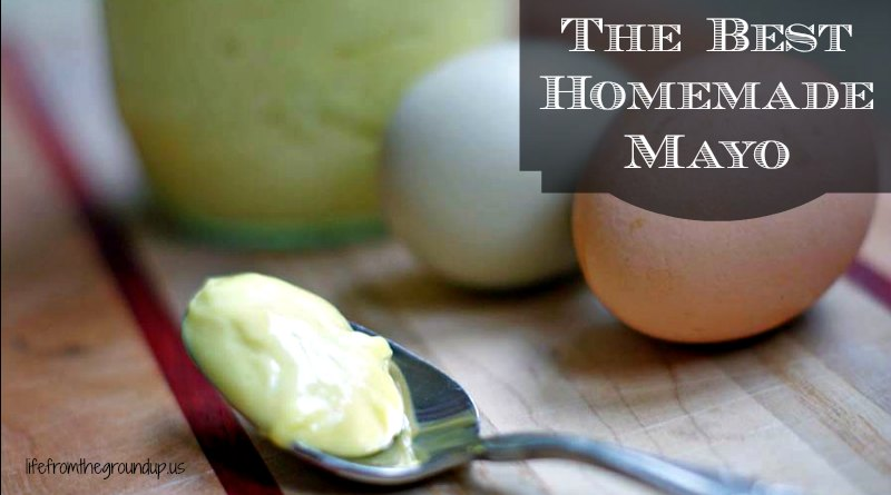Homemade Mayo - lifefromthegroundup.us