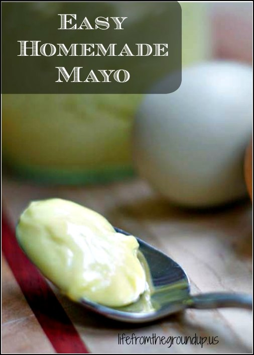 Homemade Mayo -lifefromthegroundup.us