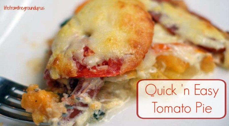Tomato Pie - lifefromthegroundup.us