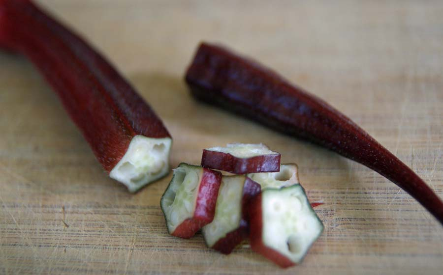 Bowling Red Okra