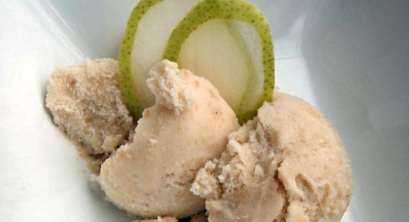 Vanilla Chai Pear Ice Cream