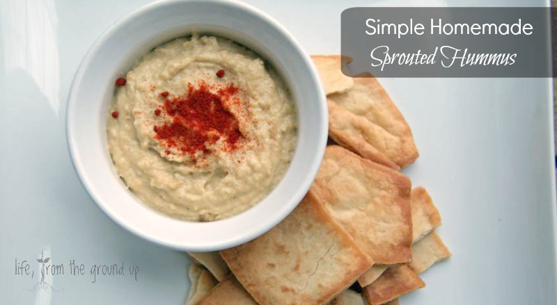 How To Make Sprouted Hummus