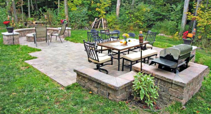 Lovely How To Install A Paver Patio