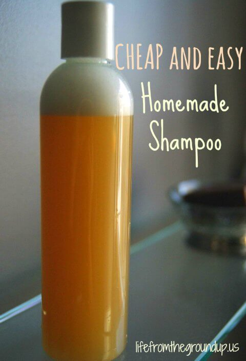 Homemade Shampoo - lifefromthegroundup.us