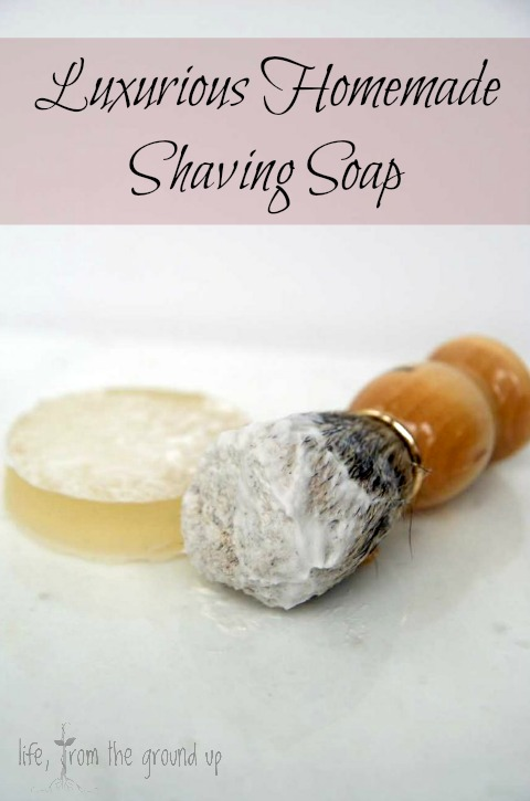 Homemade Shaving Soap Recipe